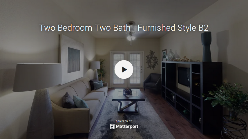 Two Bedroom Two Bath - Furnished Style B2