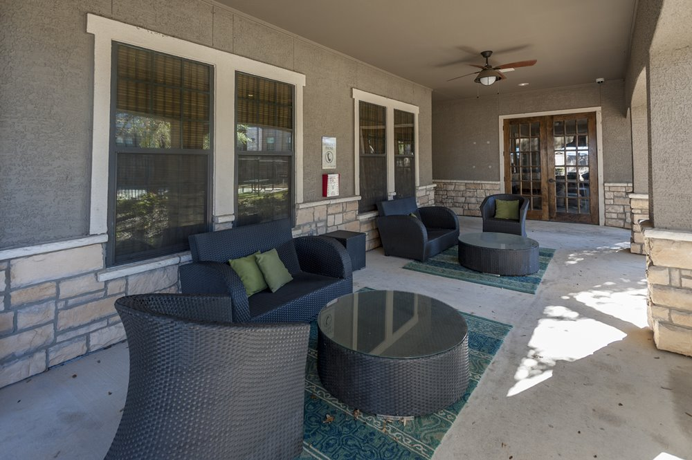 Porch Seating for Community Center