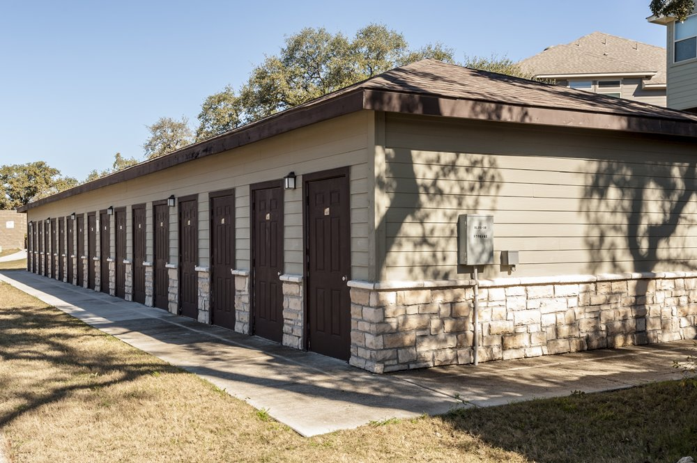 Outdoor Storage Building for Residents